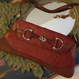 Handbags - Reddish Brown Small Purse/Clutch